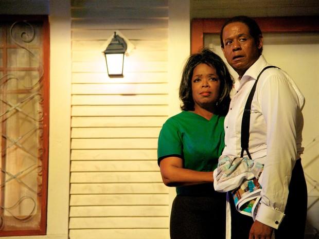 """Forest Whitaker e Oprah Winfrey em cena de """"O Mordomo da Casa Branca"""" (Foto: Divulgação)"""