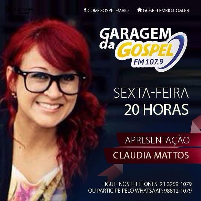 claudia_garagemdogospel